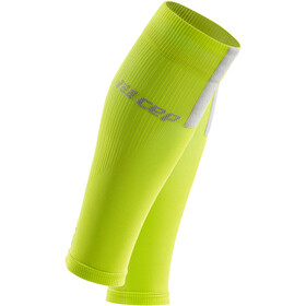 cep Calf Sleeves 3.0 Hombre, lime/light grey
